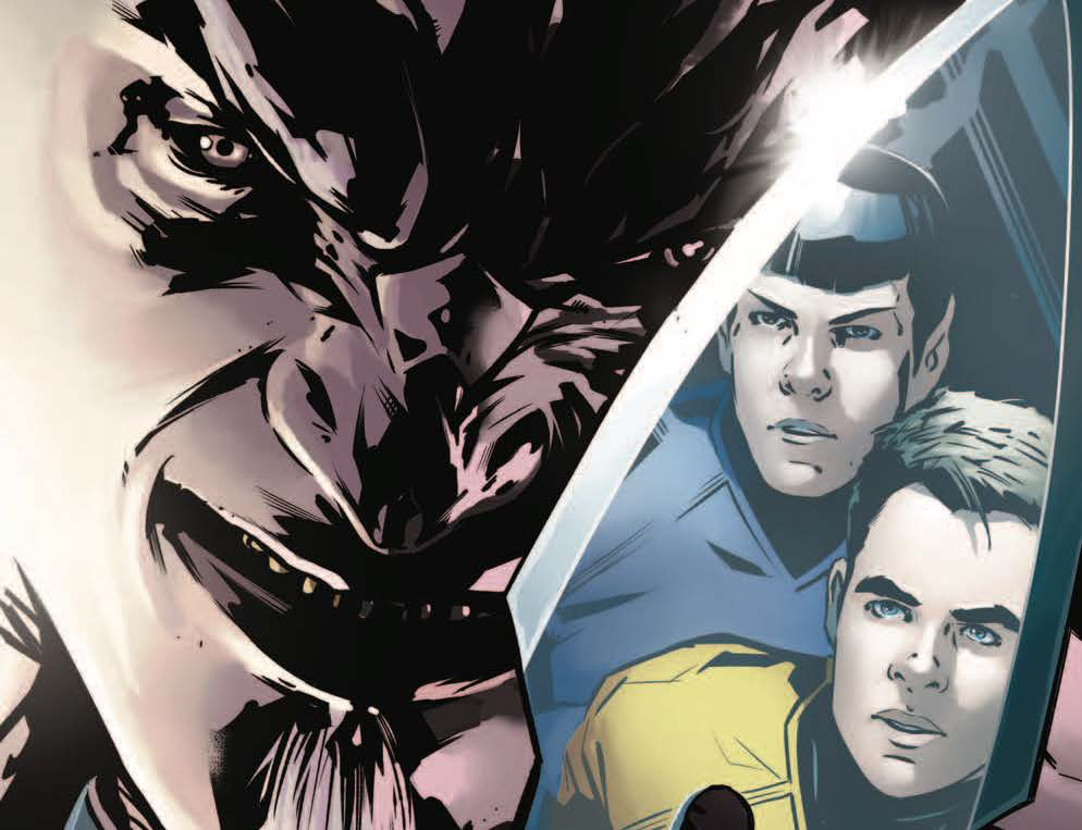 One of the biggest disappointments of The Next Generation was how the Klingons were no longer at war with the Federation. Well, Worf was pretty awesome, but to lose that warring culture (okay sure the Romulans weren't very nice either) limited the dramatic impact the show could have had. So it's with intense anticipation that IDW is delivering a Klingon at war with Kirk and the gang premise in this week's new Star Trek series.
