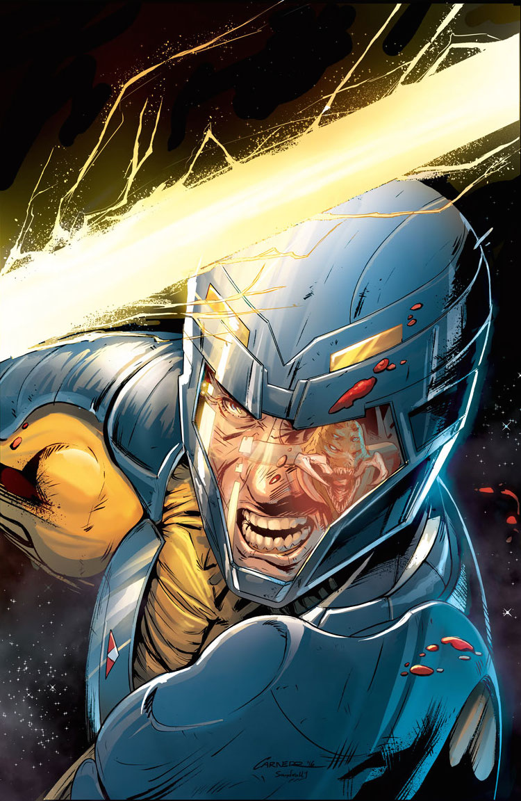 Valiant Preview: X-O Manowar Annual 2016 #1