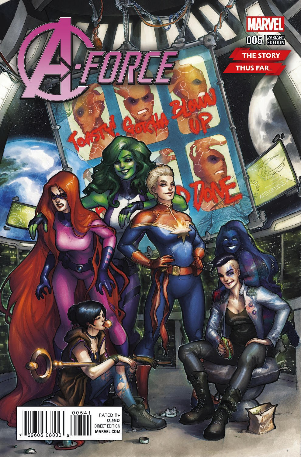 Marvel Preview: A-Force #5