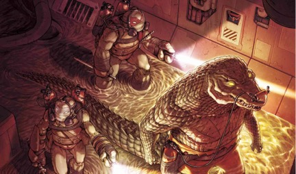 Teenage Mutant Ninja Turtles #57 Review