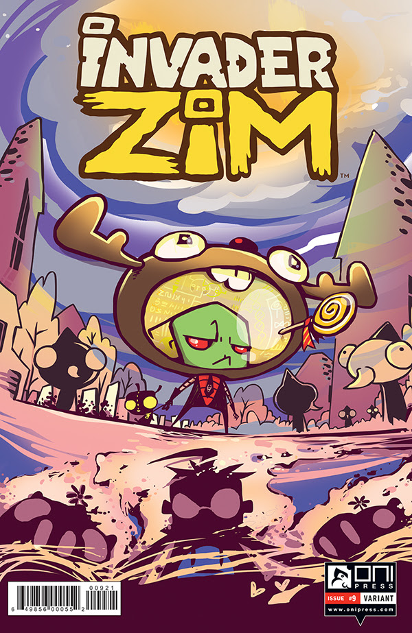 Oni Preview: Invader Zim #9