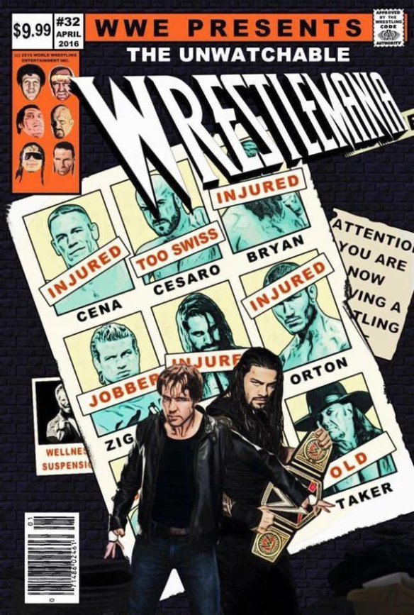 10 Count! Booking WrestleMania (The Comic Book)