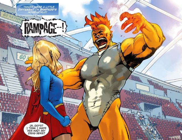The Adventures of Supergirl #1 Review