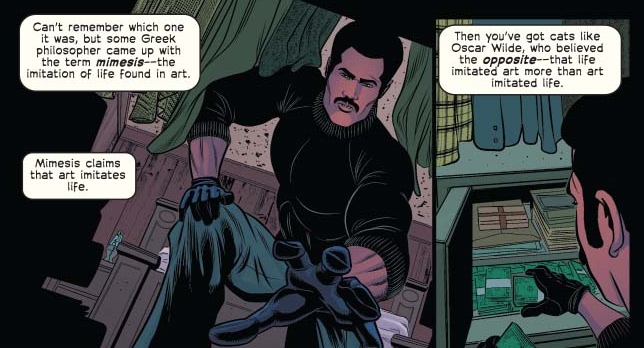 Shaft: Imitation of Life #4 Review
