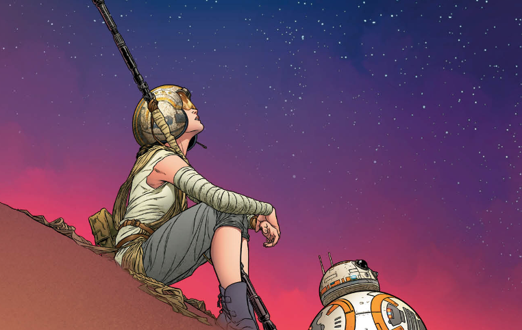 Marvel Preview: Star Wars: The Force Awakens Adaptation #1