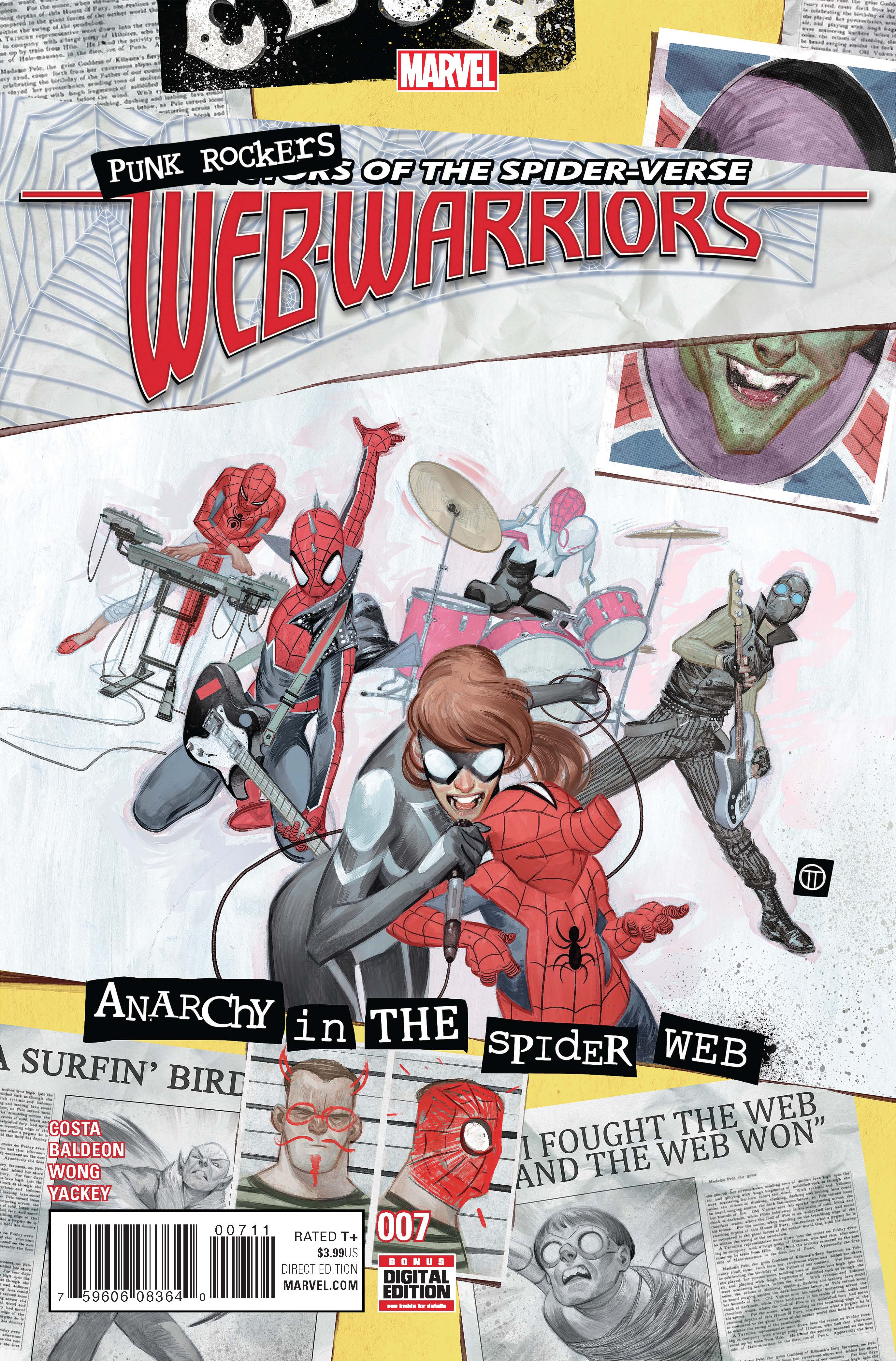 Marvel Preview: Web Warriors #7