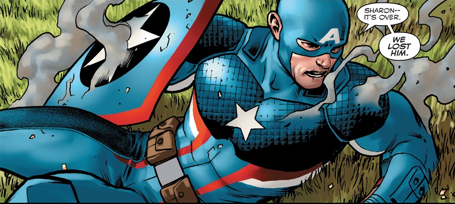 New York, NY—May 25th, 2016 —  Cindy Watson has had enough of Captain America.  And it's not the return to the badge-shaped shield of yore that has her fuming.