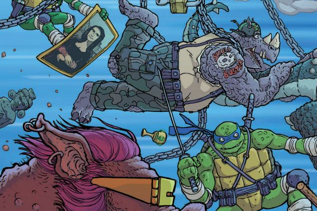 TMNT: Bebop and Rocksteady Destroy Everything #1 Review