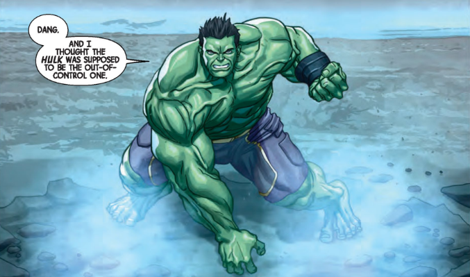 Marvel Preview: The Totally Awesome Hulk #6