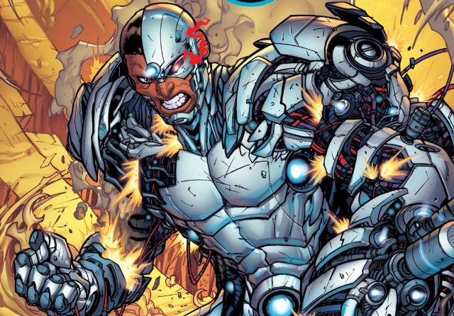 Cyborg #12 Review