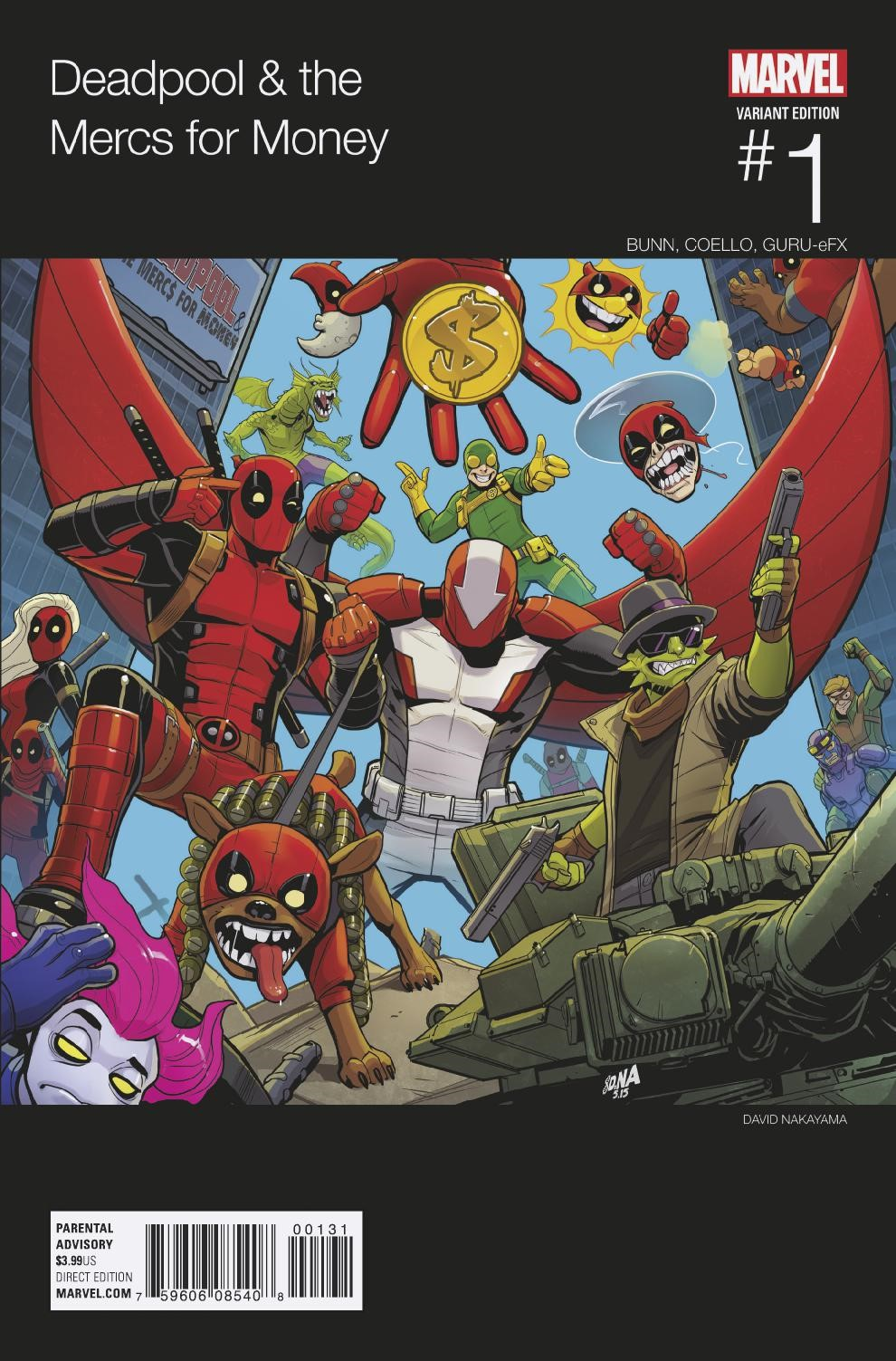 Marvel Preview: Deadpool and the Mercs for Money #1