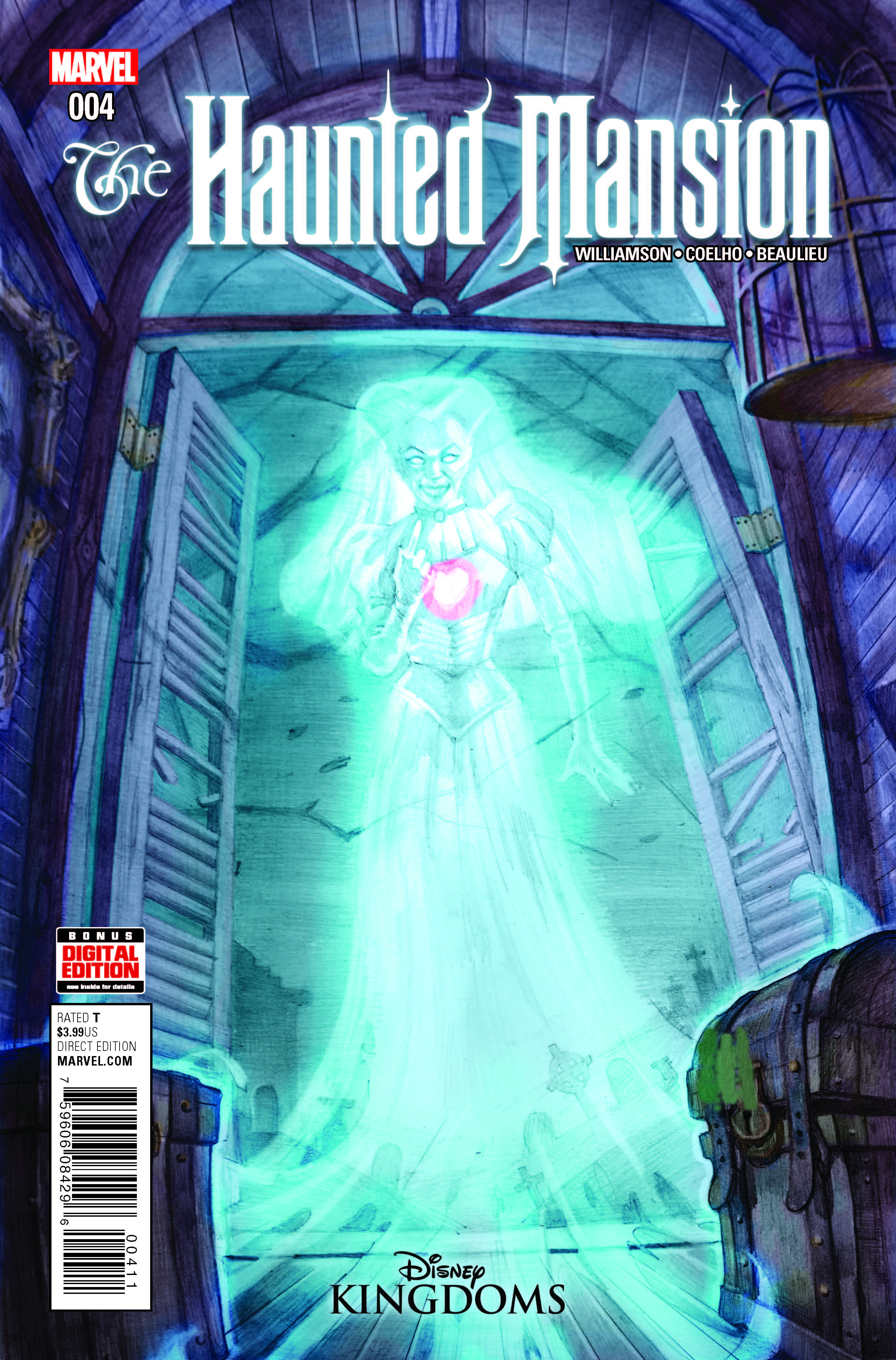Marvel Preview: Haunted Mansion #4