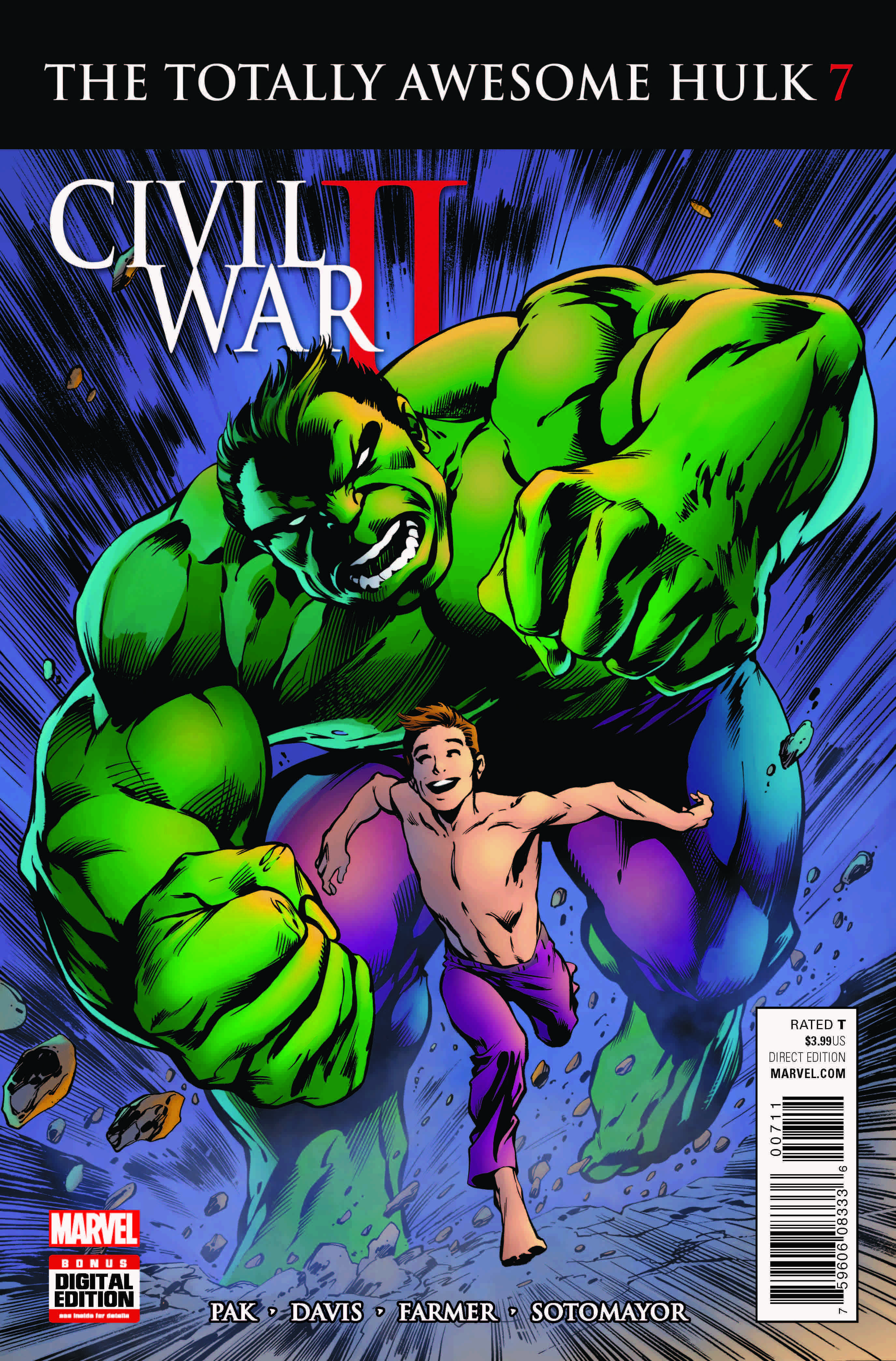 Marvel Preview: Totally Awesome Hulk #7