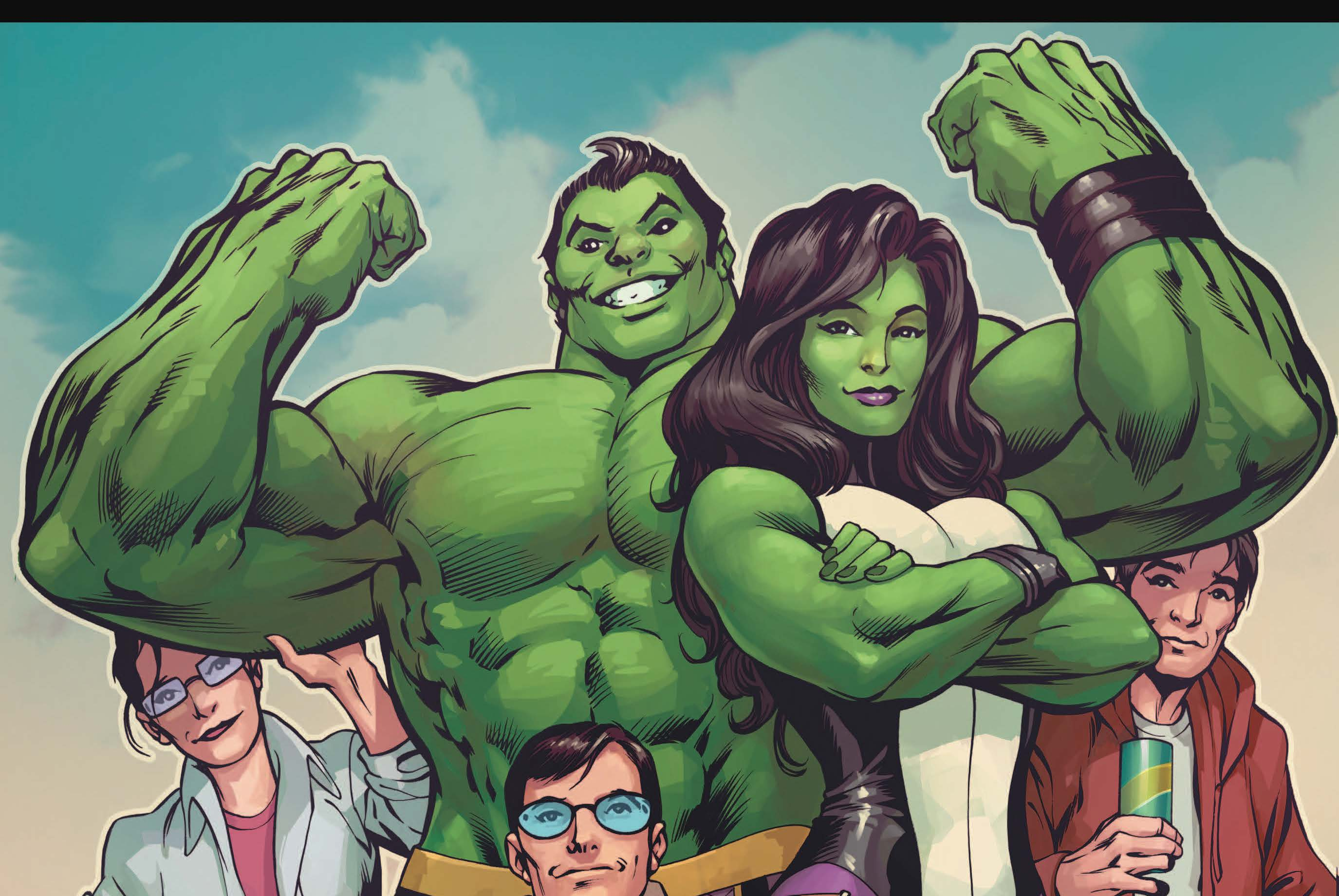Marvel Preview: Totally Awesome Hulk #8