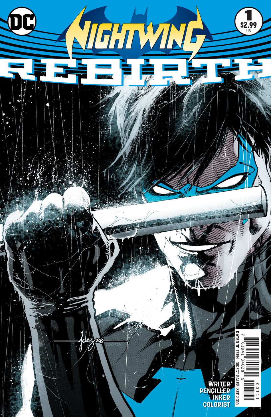 DC Preview: Nightwing: Rebirth #1
