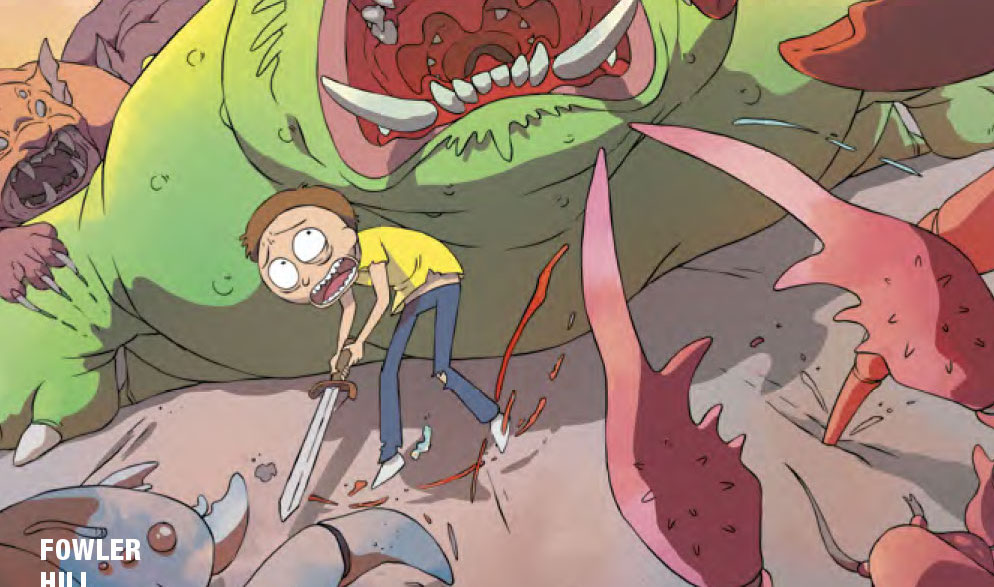 Rick and Morty #15 Review