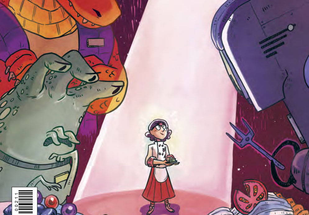 Space Battle Lunchtime #2 Review