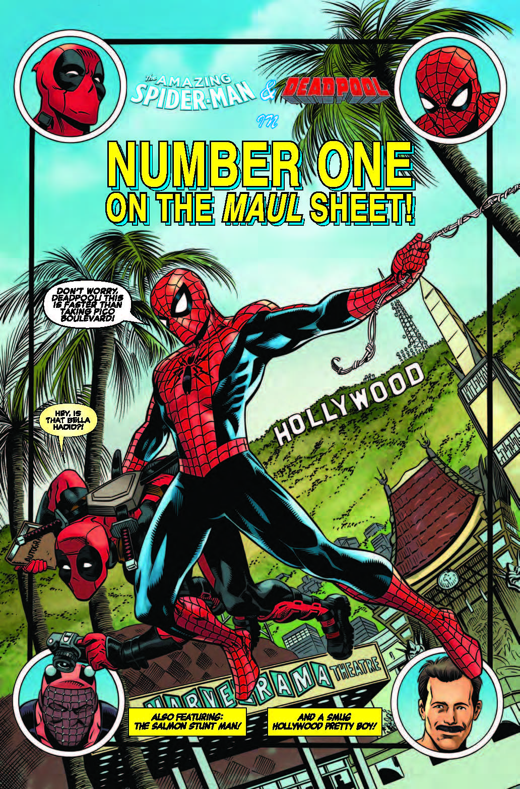 Marvel Preview:  Spider-Man/Deadpool #6