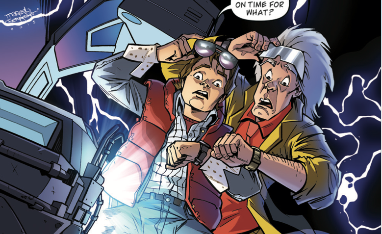 [EXCLUSIVE] IDW Preview: Back to the Future #9