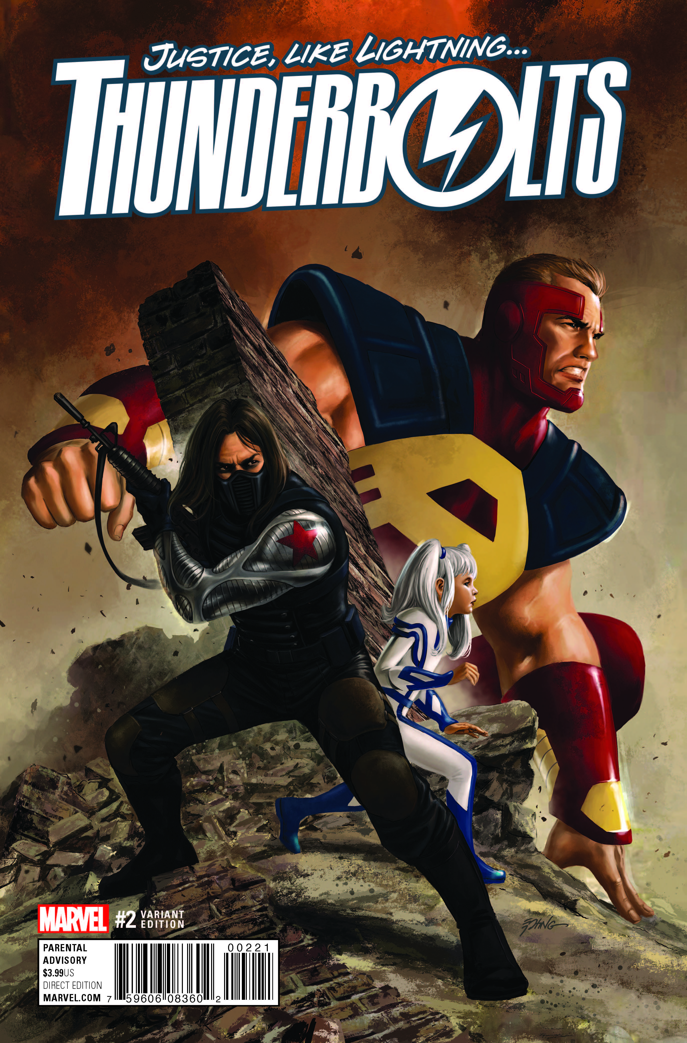 Marvel Preview: Thunderbolts #2