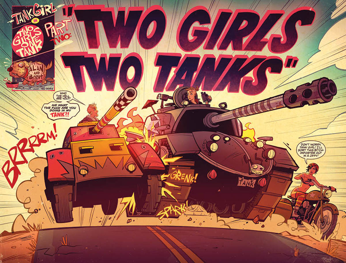 Tank Girl: Two Girls, One Tank #2 Review