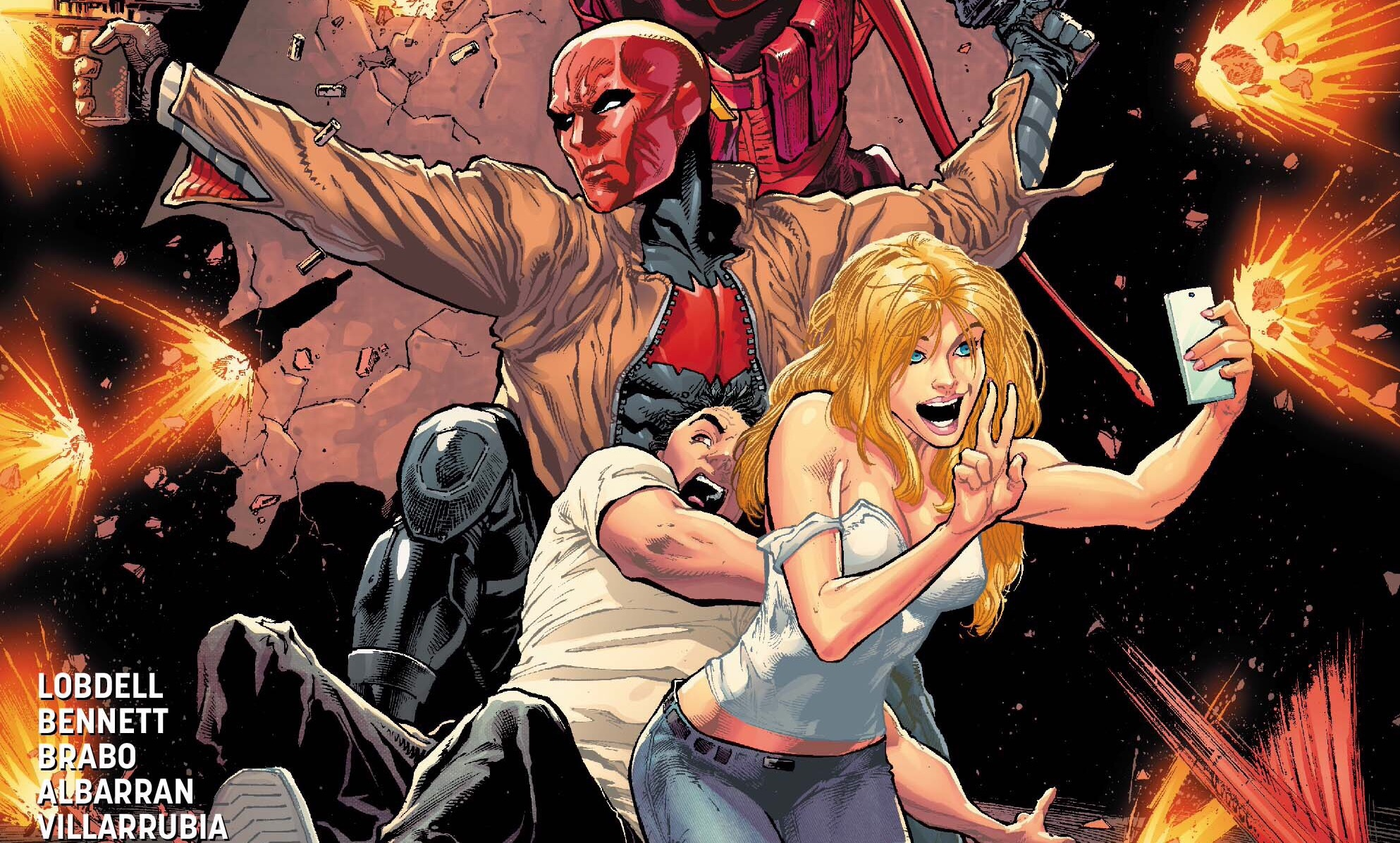 [EXCLUSIVE] DC Preview: Red Hood/Arsenal #13