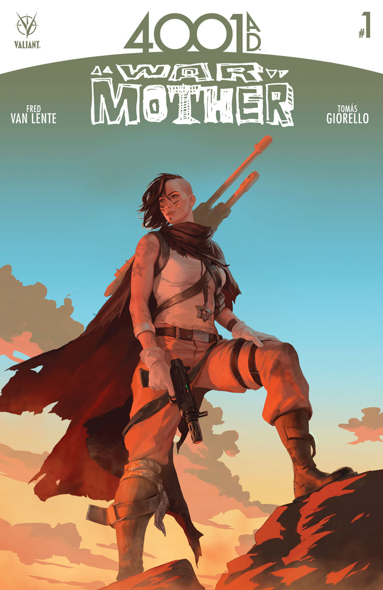 Valiant Preview: 4001 A.D.: War Mother #1