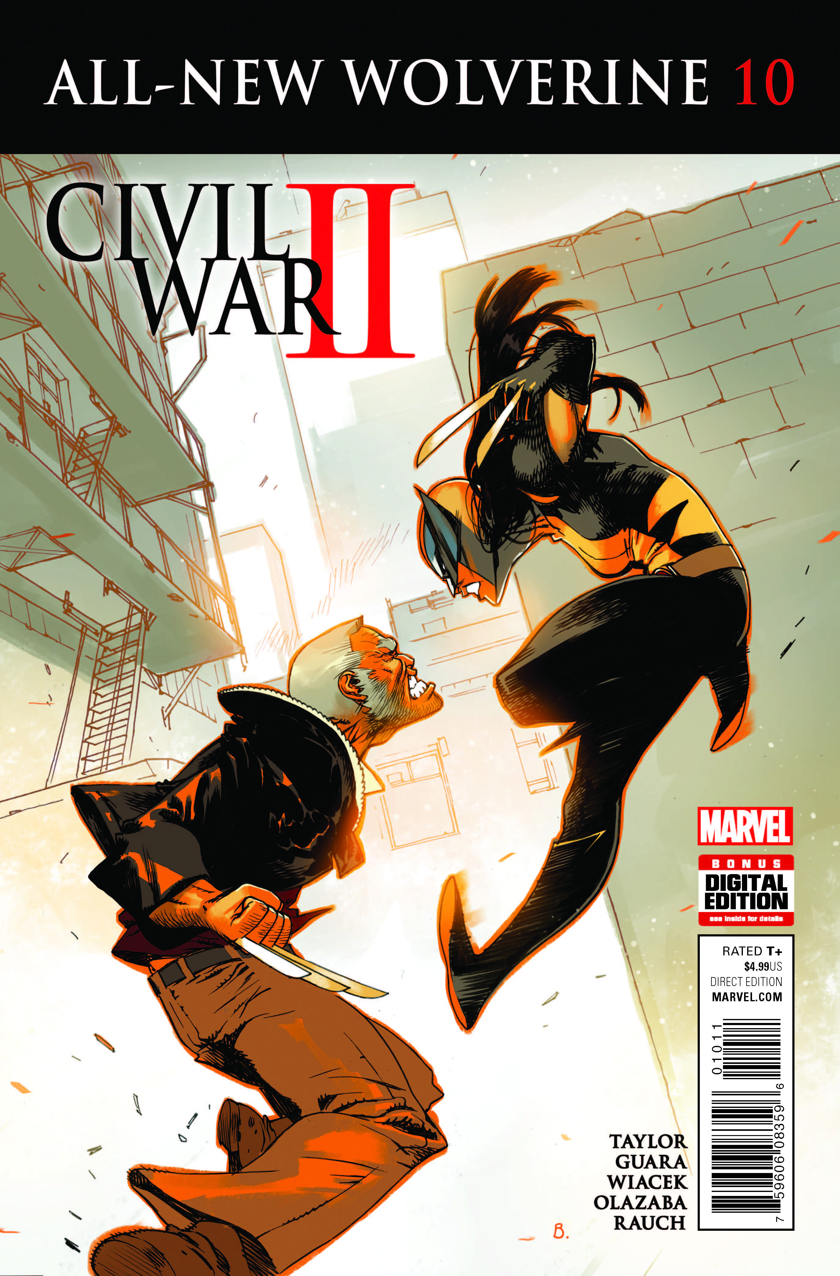 Marvel Preview: All-New Wolverine #10