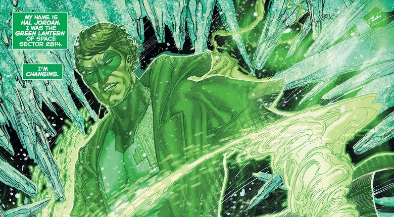 Hal Jordan and the Green Lantern Corps: Rebirth #1 Review
