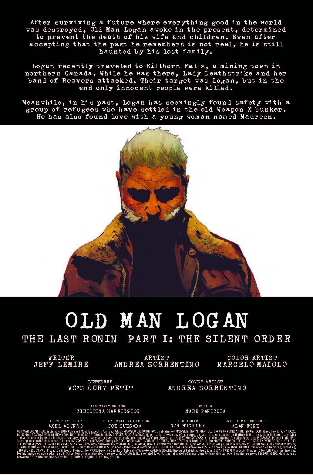 Marvel Preview: Old Man Logan #9