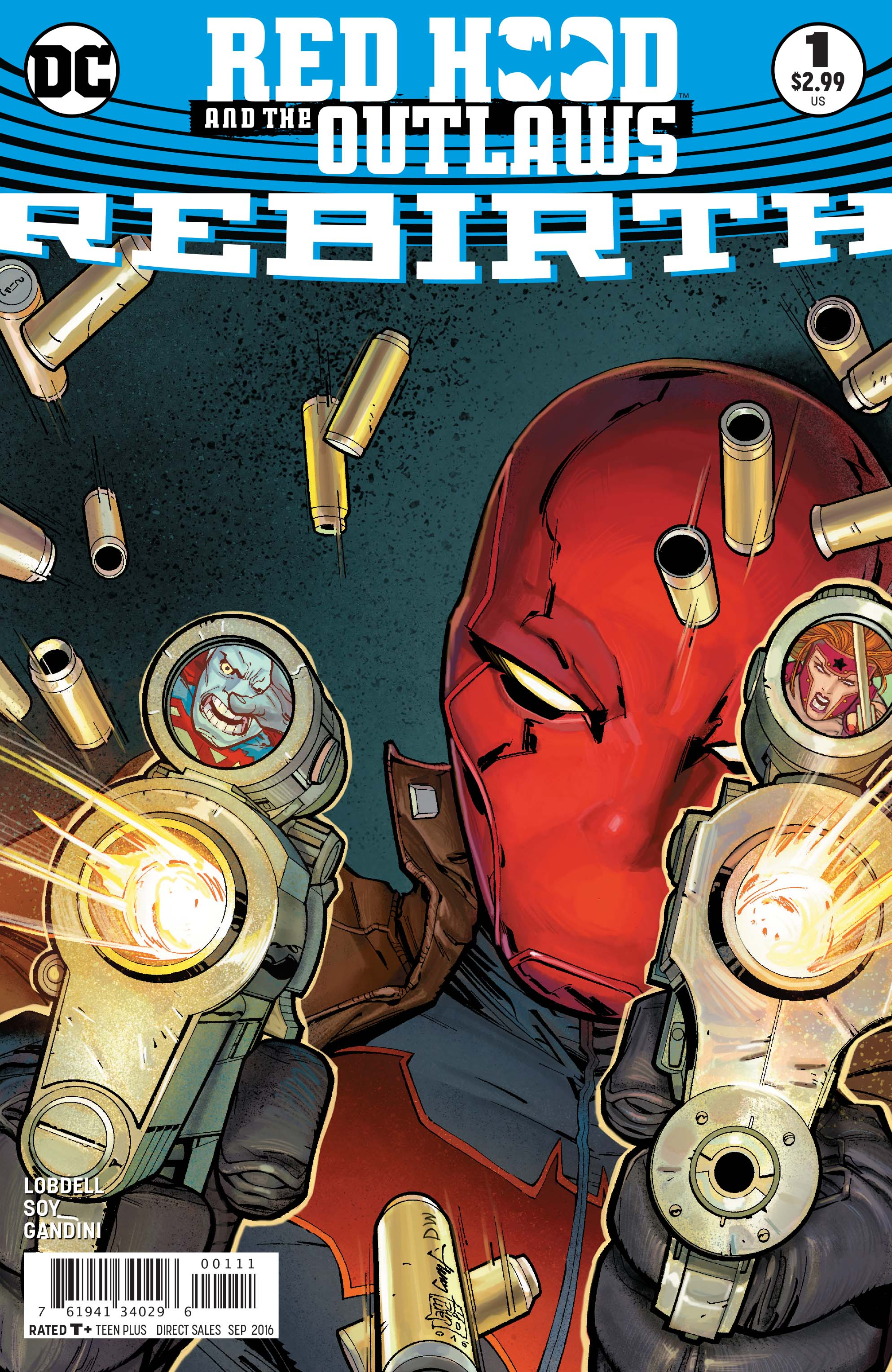 DC Preview: Red Hood and the Outlaws: Rebirth #1
