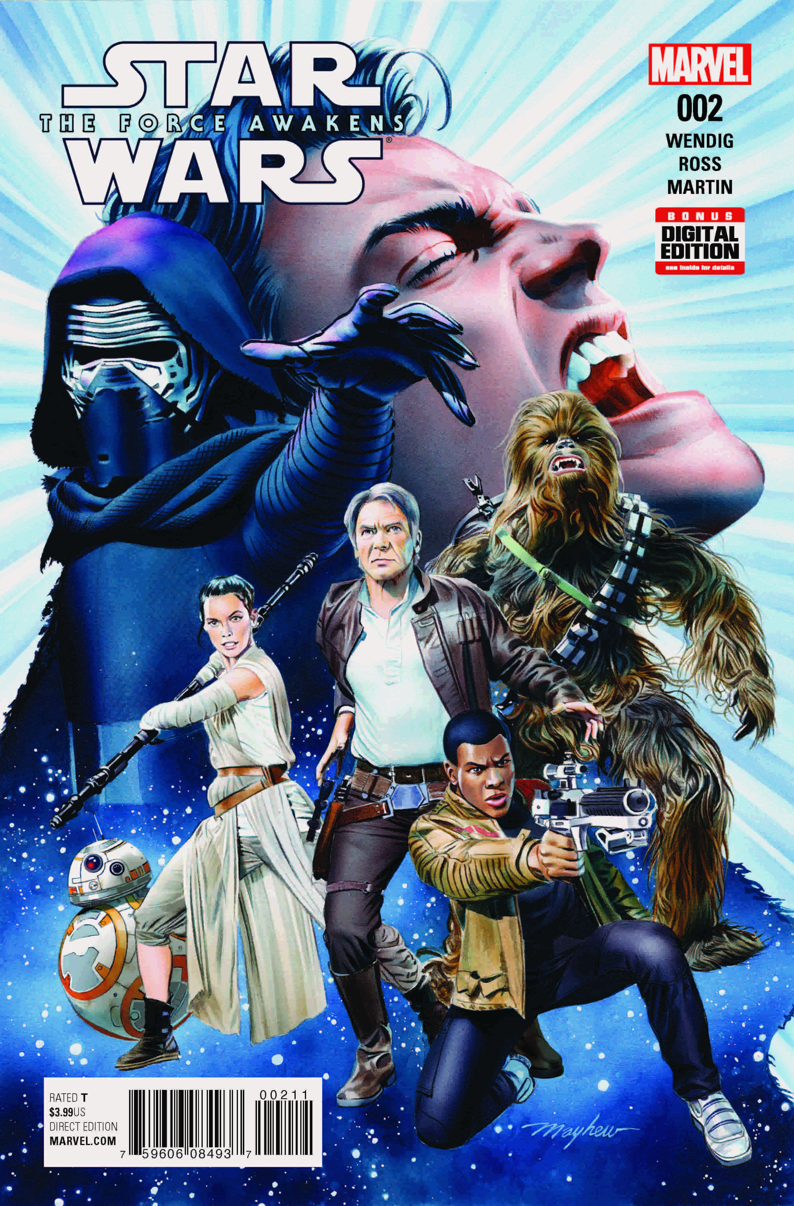 Marvel Preview: Star Wars Force Awakens Adaptation #2
