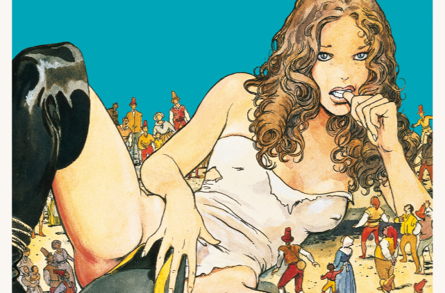 If you're unfamiliar with Milo Manara you probably haven't read erotic comic books. He's an Italian writer and artist whose art is synonymous with wide hips and big breasts. Humanoids is publishing an oversized edition of his 1998 book Gullivera this week, but is it worth your time?