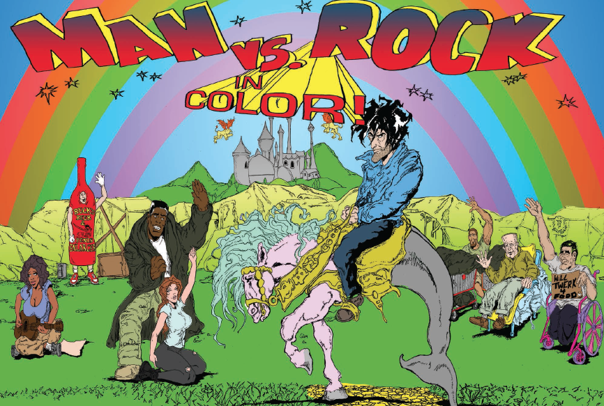 Man vs. Rock Volume 5 Review
