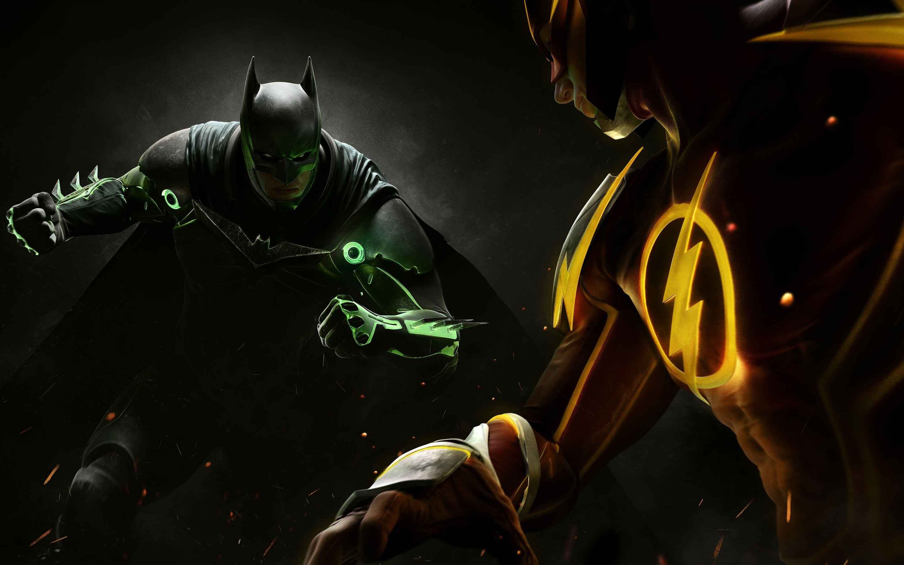 While San Diego Comic Con was overwhelmed by DC announcements for their films, television shows and comics, room 6DE also revealed more details for the upcoming new game and sequel to Injustice: Gods Among Us.