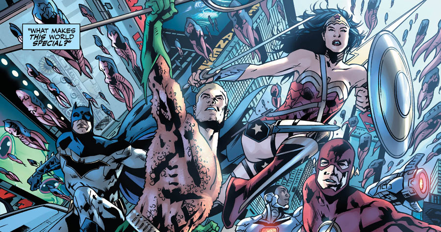 Justice League: Rebirth #1 Review