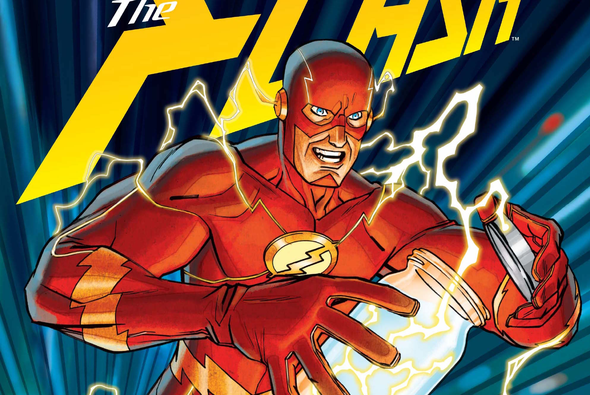 So, I totally missed my DC fix last week and am so excited to pick back up again with The Flash 'Lightning Strikes Twice' part 5! Simply titled 'Barry's Day Off,' we are now on a new path with dozens of new speedsters ready to help protect Central City. Barry Allen finally takes some time to himself and works on starting a new relationship. During his vacation a new serial killer begins hunting the newly made Flashes and Wally West is beginning to see his potential. With all the new happenings in the city, what will Barry need to do to keep his friends and new partners safe? It's going to be an emotional rollercoaster. Ready to ride? Is it good?