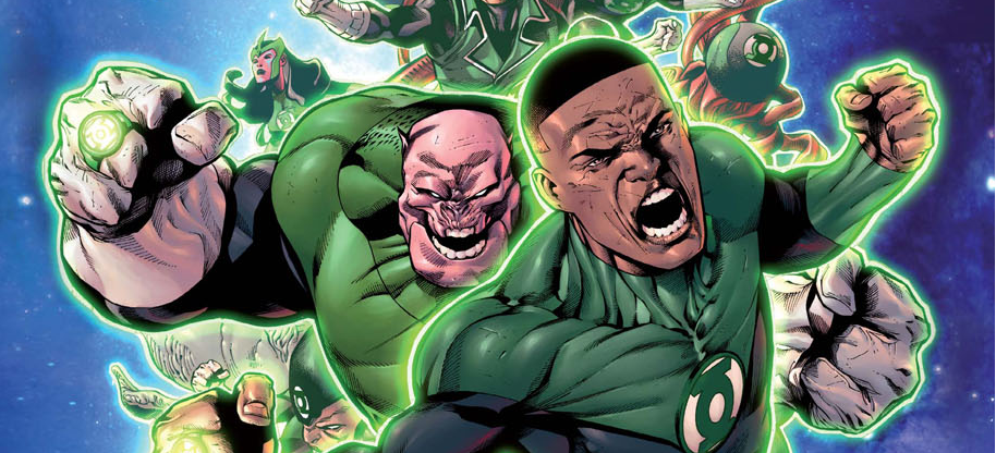 The first issue of Hal Jordan and the Green Lantern Corps was pretty good. It had some problems, but it got things moving.  How does the second issue fare?  Is it good?