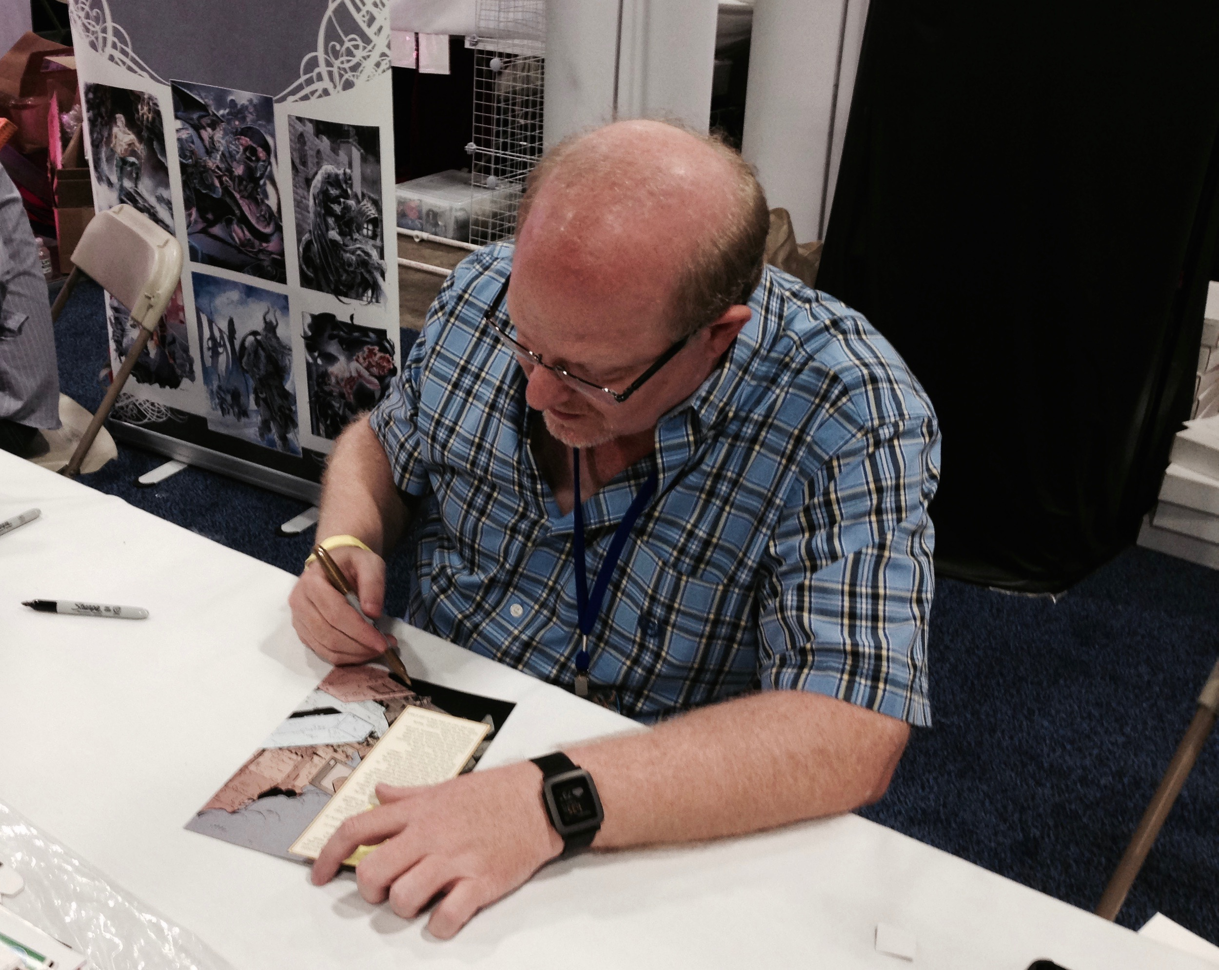 3 Questions With Mark Waid at Boston Comic Con 2016