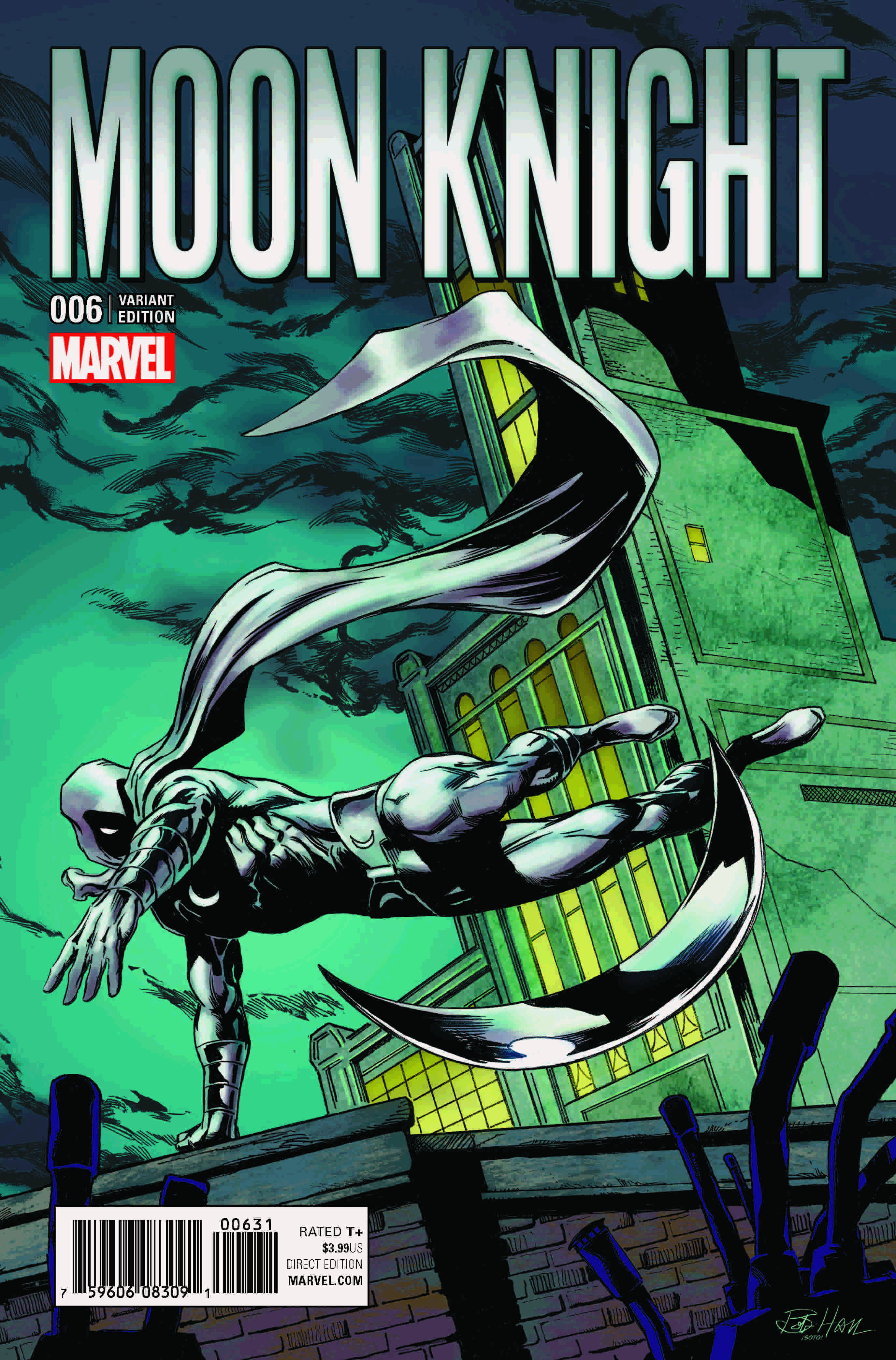 Marvel Preview: Moon Knight #6