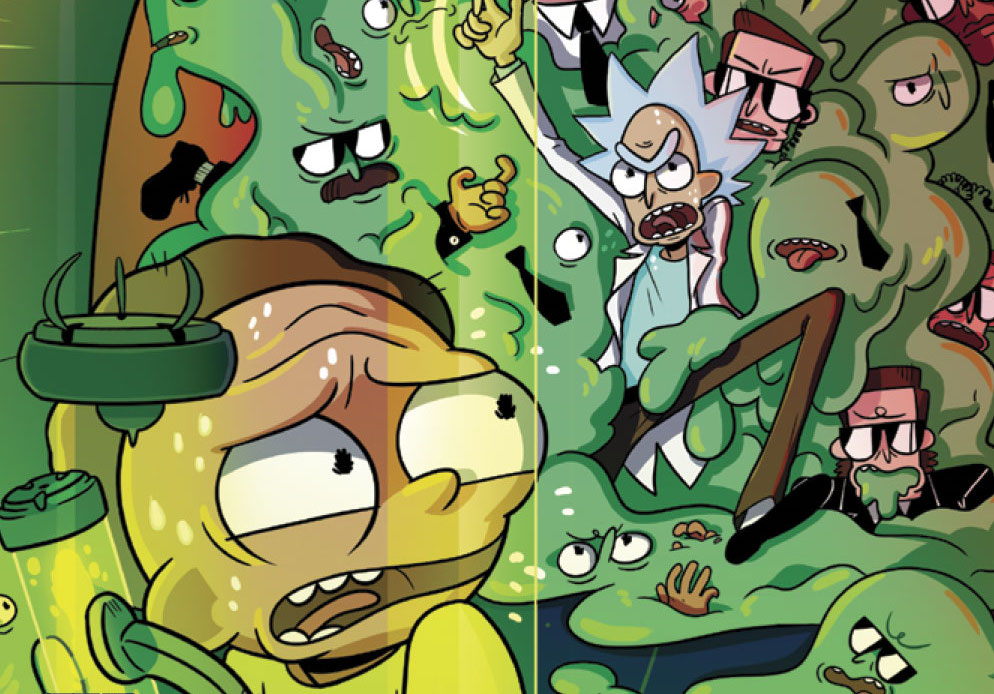 Oni Preview: Rick and Morty #17