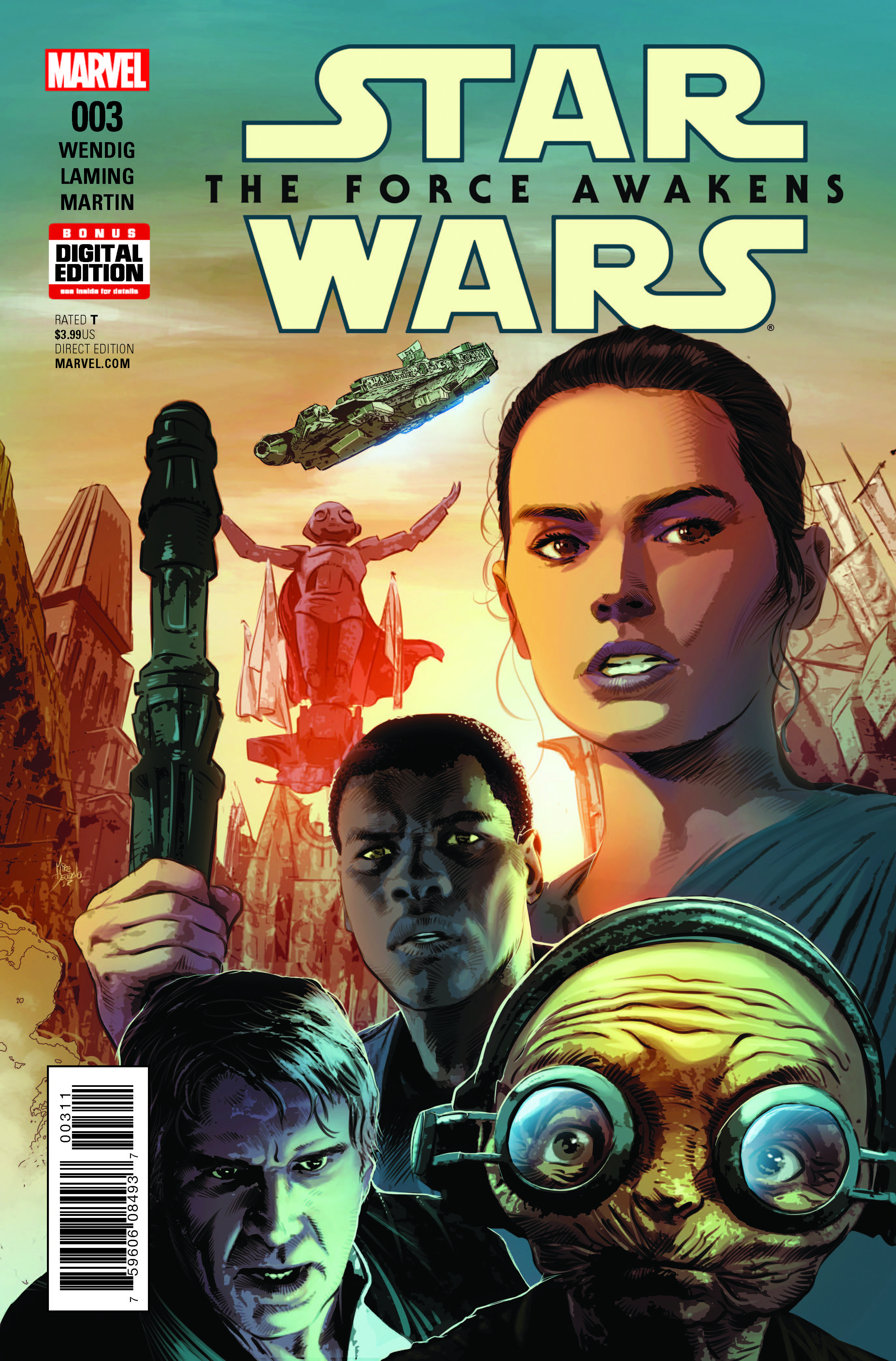 Marvel Preview: Star Wars Force Awakens Adaptation #3