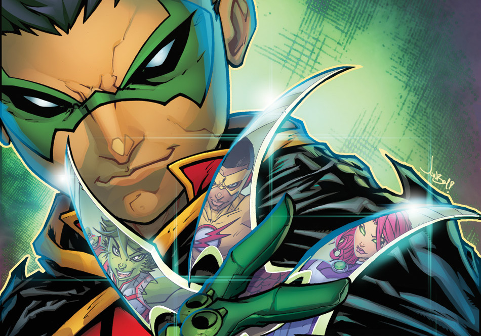 DC Preview: Teen Titans: Rebirth #1