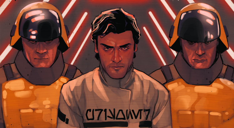 Black Squadron's been locked away in a Republic prison! But they're not locked in there with us, they're locked in with…Terrex?! Can Poe and co. get the info they need and get free?