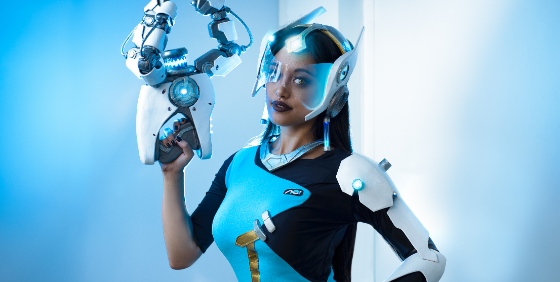 Overwatch:  Symmetra Cosplay by Lunar Crow