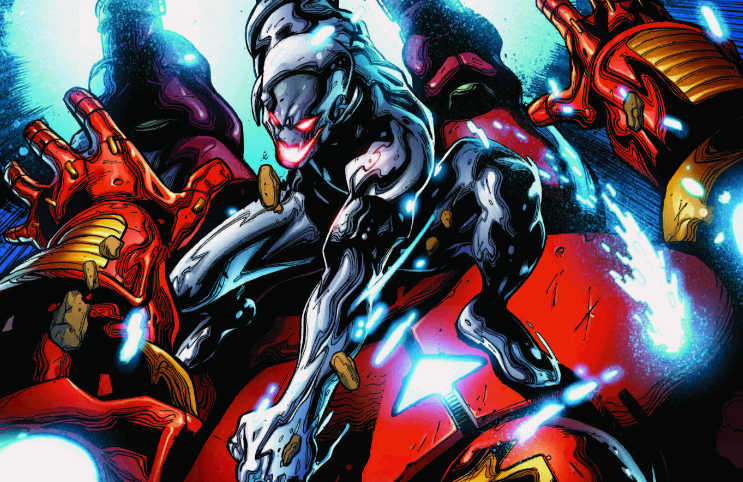 "All-out action to save an Avenger ...FROM ULTRON! One member of the Unity Squad catches a heck of a bad break. Plus — what is ""The Icarus Protocol""?"
