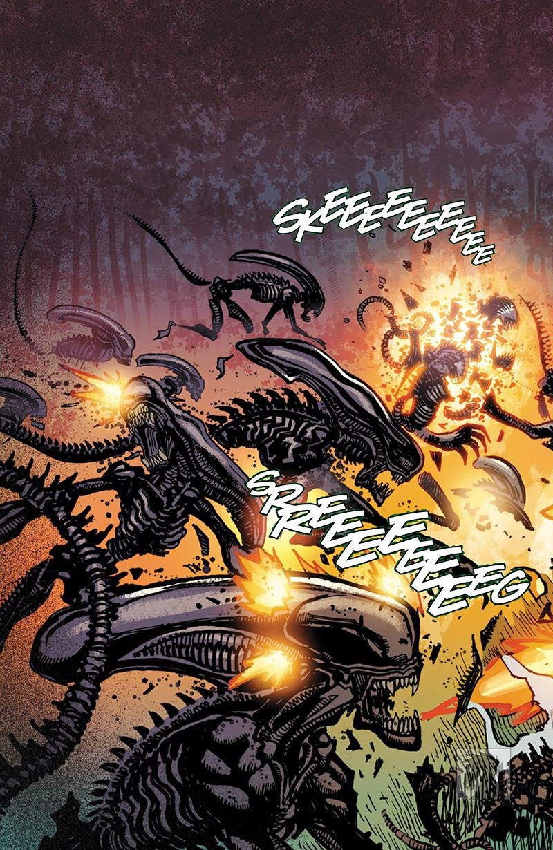 Dark Horse Preview: Aliens: Life and Death #1