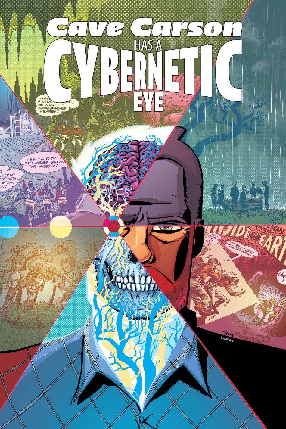 DC Preview: Cave Carson Has a Cybernetic Eye #1