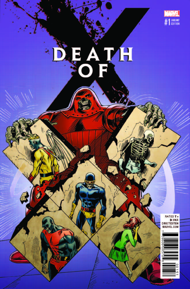 Marvel Preview: Death of X #1
