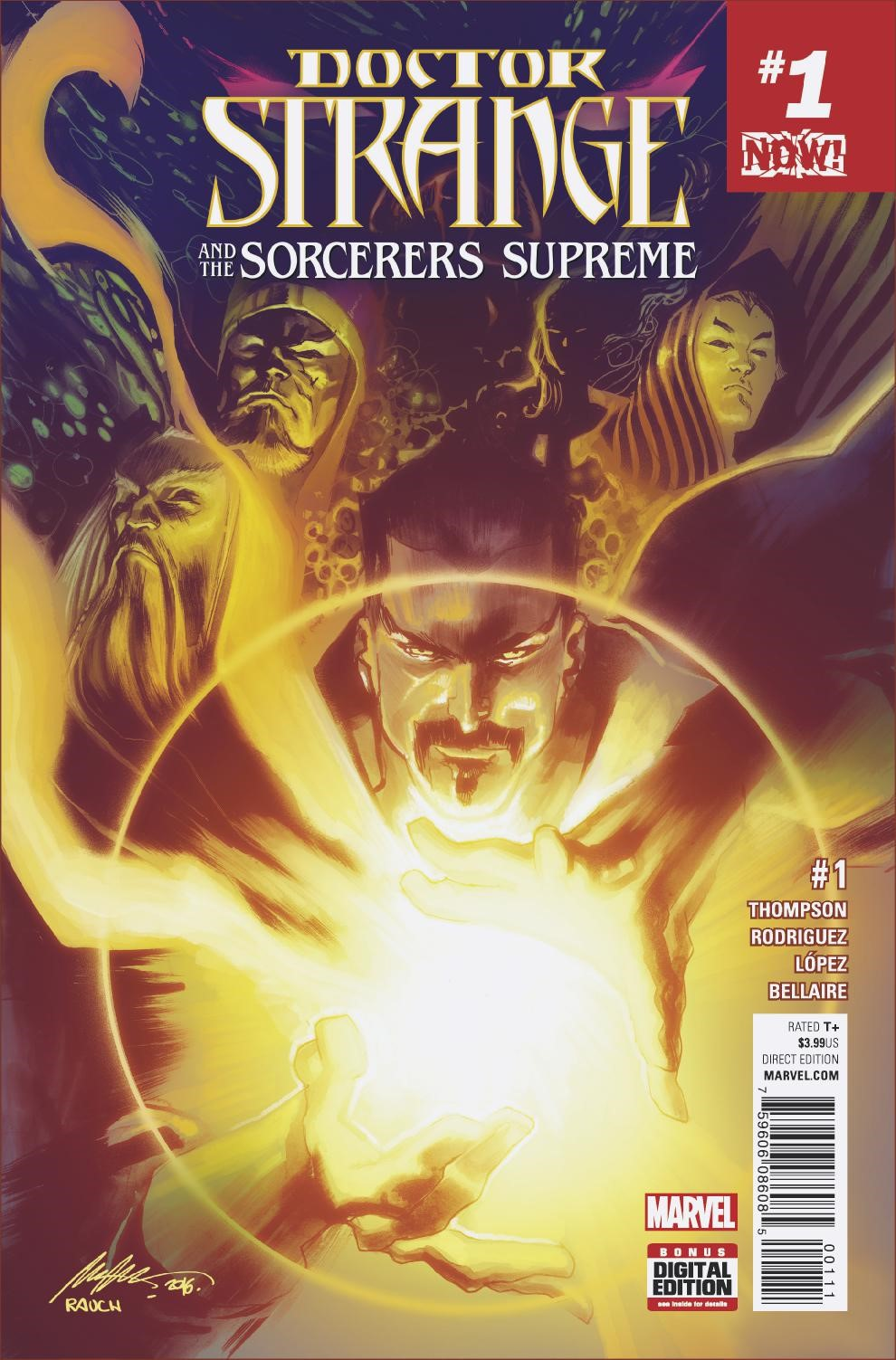 Marvel Preview: Doctor Strange and the Sorcerers Supreme #1